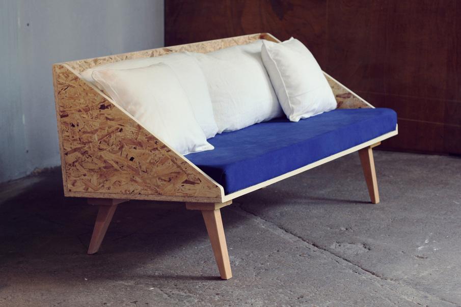 le petit canap banquette de derri re les fagots. Black Bedroom Furniture Sets. Home Design Ideas