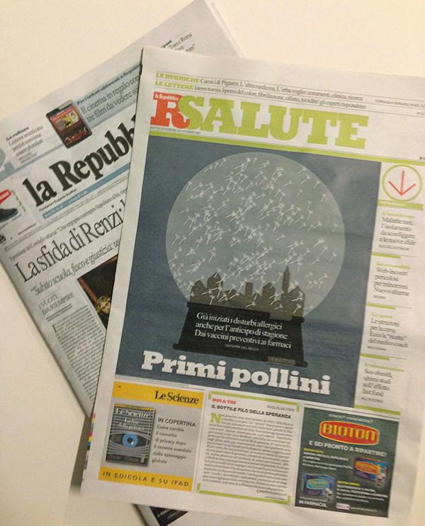 Primi pollini studio armadillo for Sito repubblica